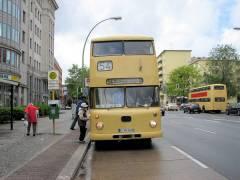 Traditionsfahrt der BVG mit historischen Bussen (Mai 2007)