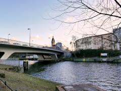 Caprivibrücke in Charlottenburg