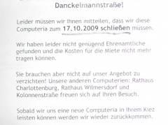 Eine Computeria können wir uns nicht mehr leisten. Aber doch sicher eine SPD und Gebietskoordination - nicht wahr?