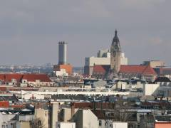 Über den Dächern von Charlottenburg - Blick auf das Rathaus