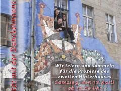 Solidarität mit der Danckelmannstraße 14 - © S. Danckelmannstr. 14