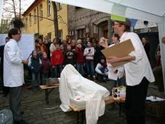 """""""Kiez-Sanatorium Danckel 14"""" - öffentliche Heilung am 12.04.2008"""