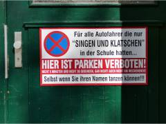 Gesehen in der Danckelmannstraße