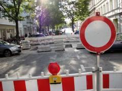 Knobelsdorffstraße wegen Bauarbeiten gesperrt