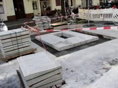 Beton über Beton in der Knobelsdorffstraße