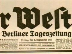 Der Westen (1933 bis 1944) / Foto Firmenarchiv der Druckerei Heenemann