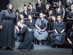 """Richard Wagners """"Der Fliegende Holländer"""" in der Deutschen Oper / Foto © Frank Wecker"""