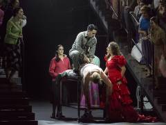 """Carmen"" an der Deutschen Oper / Foto © Frank Wecker"