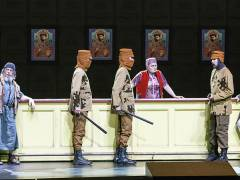 """""""Boris Godunow"""" in der Deutschen Oper / Foto © Frank Wecker"""