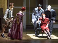 """""""Die Sache Makropulos"""" in der Deutschen Oper / Foto © Frank Wecker"""