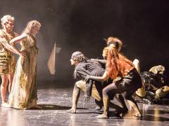 Neue Szenen IV - Ein Opern-Triptychon in der Tischlerei der Deutschen Oper / Foto © Frank Wecker