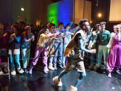 Unerhaltung in Blomagal - Musiktheater in der Deutschen Oper / Foto © Frank Wecker