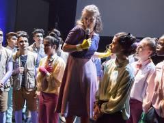 Debatten in Blomagal - Musiktheater in der Deutschen Oper / Foto © Frank Wecker