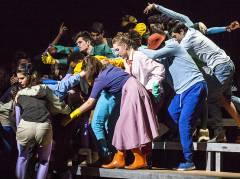 Die Bürger von Blomagal finden zueinander - Musiktheater in der Deutschen Oper / Foto © Frank Wecker