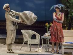 """Alvaro Zambrano und Alexandra Hutton in """"La Rondine"""" in der Deutschen Oper / Foto © Frank Wecker"""