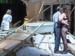 """Musiktheaterstück """"Sensor"""" in der früheren Tischlerei der Deutschen Oper / Foto © Frank Wecker"""