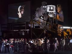 """""""La Forza del Destino"""" (Die Macht des Schicksals) an der Deutschen Oper / Foto © Frank Wecker"""