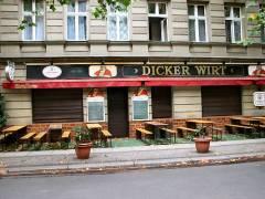 """Kiezer Kneipe """"Dicker Wirt"""" in der Danckelmannstraße"""
