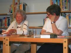 Elfriede Brüning - eine Zeitzeugin in der Ingeborg-Bachmann-Bibliothek