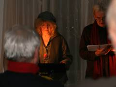 Elke Querbeet und Harald Marpe lesen aus Alfred Döblins Roman Berlin Alexanderplatz