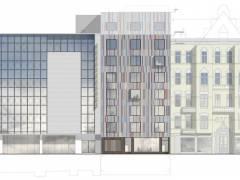 Planung der Straßenfassade / Foto © 2017 Johanne Nalbach
