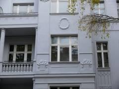 Fassadenarbeiten beendet - November 2007