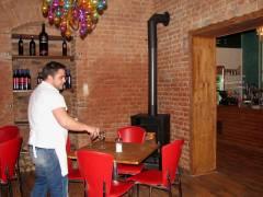 Eiscafé Fedora umgebaut und renoviert