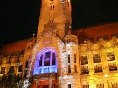 Rathaus Charlottenburg - illuminiert zum Festival of Ligths 2008