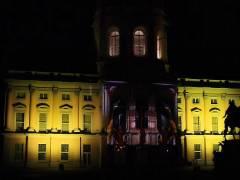 Schloß Charlottenburg - illuminiert zum Festival of Ligths 2008