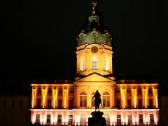 Schloß Charlottenburg - illuminiert zum Festival of Ligths 2009