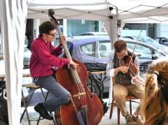 """Fête de la Musique vor dem """"Brotgarten"""" in der Seelingstraße"""
