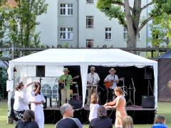 Fête de la Musique im Hof der Nehring-Grundschule