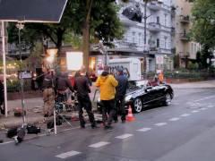Filmaufnahmen in der Schloßstraße - September 2013