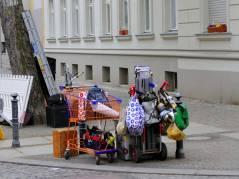 Filmaufnahmen in der Nehringstraße (April 2015)