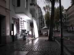 Filmaufnahmen in der Nehringstraße