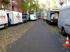 Film-Dreharbeiten in der Nehringstraße - 5.11.2007