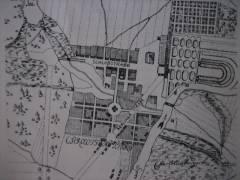Plan Charlottenburgs vor 1740 - Bildquelle Wikipedia