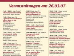 Programm zur Frauenmesse 2007