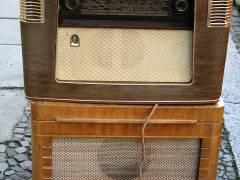 "gutes altes ""Dampfradio"" im Kiez"