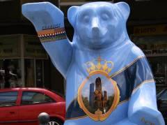 Buddy-Bär vor dem Rathaus Charlottenburg