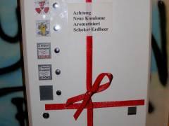 Kondomautomat im Jugendclub Schloß 19