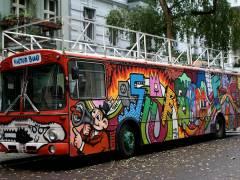 Der Kulturbus in der Nehringstraße