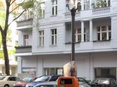 Fehlende Gaslaterne in der Nehringstraße - 23.04.2008