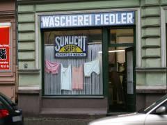 Wäscherei Fiedler in der Behaimstraße 23