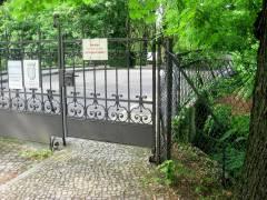Friedhofsbrücke (Friedhof Grunewald) / Foto MichaelR