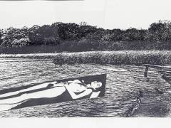 Helmut Newton sieht den Grunewaldsee. / Foto vom Foto © Wecker