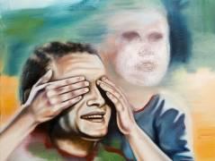"""Titelbild zur Ausstellung """"Erscheinungen"""" von Robert Gärtner in der Galerie Carlos Hulsch / Repro Frank Wecker"""