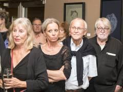 Vernissage der Ausstellung von Johann Manfred Kleber in der Galerie Hulsch / Foto © Frank Wecker
