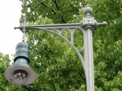 Gaslaterne im Kiez am Klausenerplatz