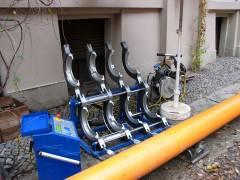 Gasrohr-Sanierung im Kiez